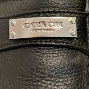 Coach Shoes - COACH PEBBLED LEATHER LOAFERS